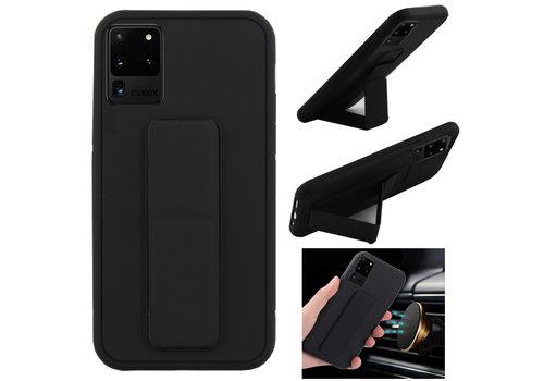 Samsung S20 Plus Hoesje Zwart - Grip