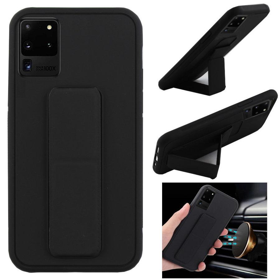 BackCover Grip voor Samsung S20 Plus Zwart