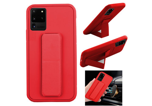 Samsung S20 Hoesje Rood - Grip