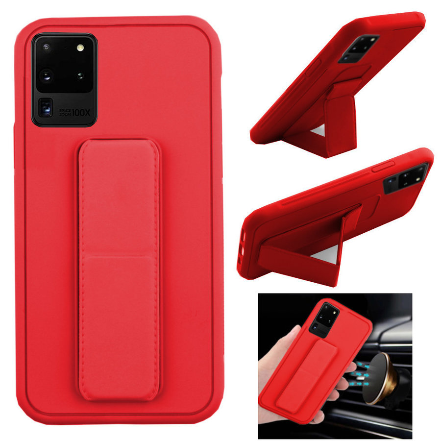 BackCover Grip voor Samsung S20 Rood