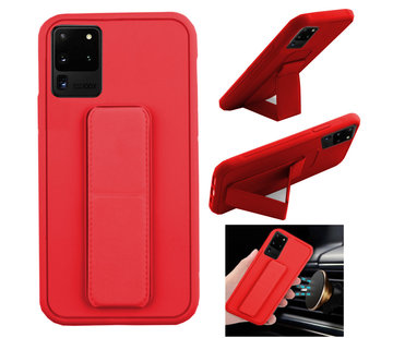 Colorfone Samsung S20 Ultra Hoesje Rood - Grip