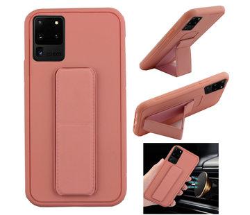 Colorfone Samsung S20 Ultra Hoesje Roze - Grip