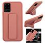 Samsung S20 Ultra Hoesje Roze - Grip