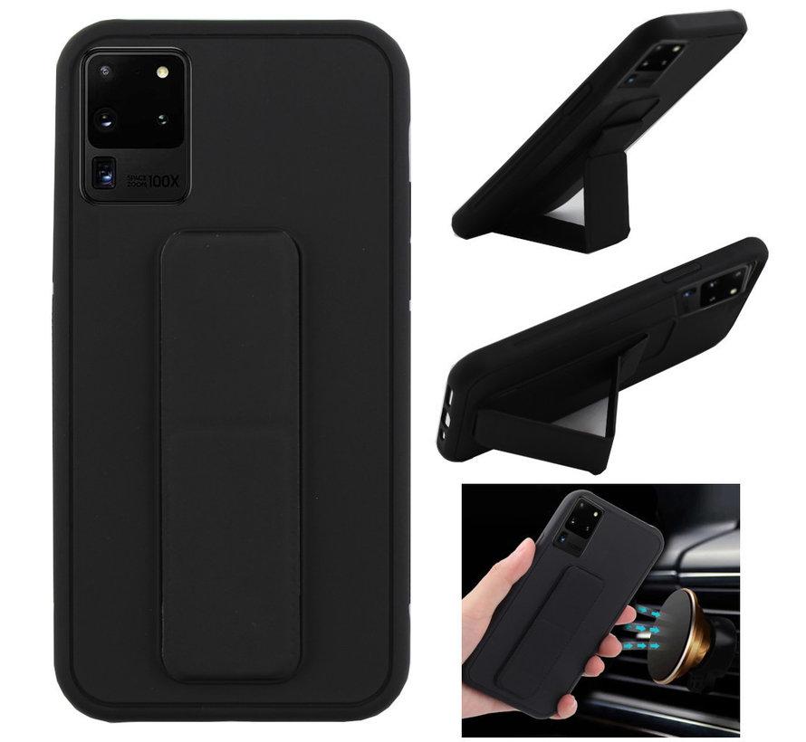 Samsung S20 Ultra Hoesje Zwart - Grip
