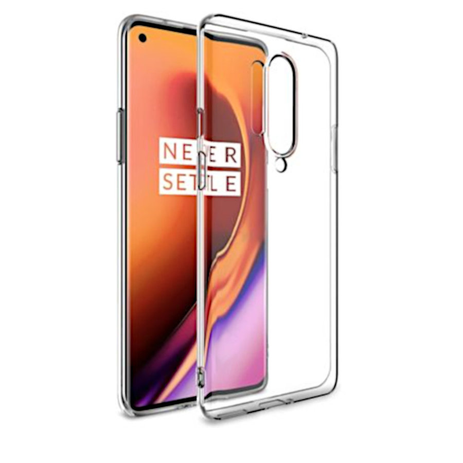 Hoesje CoolSkin3T TPU Case voor One Plus 8 Pro Tr. Wit