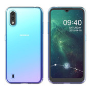 Colorfone Samsung A01 Hoesje Transparant - CoolSkin3T