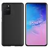 Colorfone Hoesje CoolSkin Slim TPU Case voor Samsung Note 10 Lite Zwart