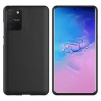 Hoesje CoolSkin Slim TPU Case voor Samsung Note 10 Lite Zwart