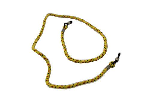Cord for glasses Yellow - Sunglasses cord