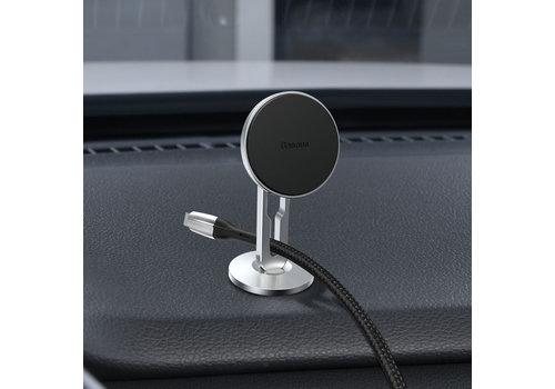 Telefoonhouder magneet - Zilver