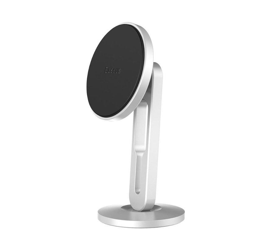 Baseus Telefoonhouder magneet - Zilver - Ventilatierooster Magnetische autohouder met kabelclip