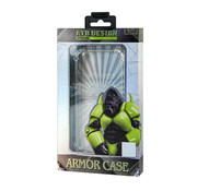 Atouchbo Samsung S20 Case Transparent - Military