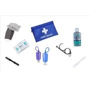 Merkloos Hygiënische Safety Kit Set - Blauw