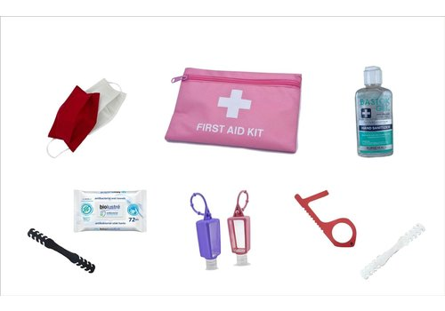 Holiday Safety Kit Set - Pink