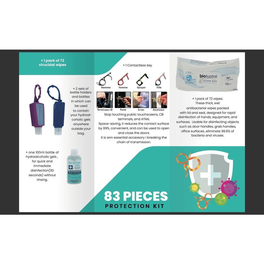 Hygiënische Safety Kit Set - Roze