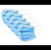 Mondmaskers 3-laags in gesealde verpakking - 10 stuks