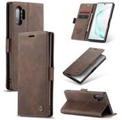 CaseMe Samsung Note 20 Ultra Hoesje Bruin - Retro Wallet Slim
