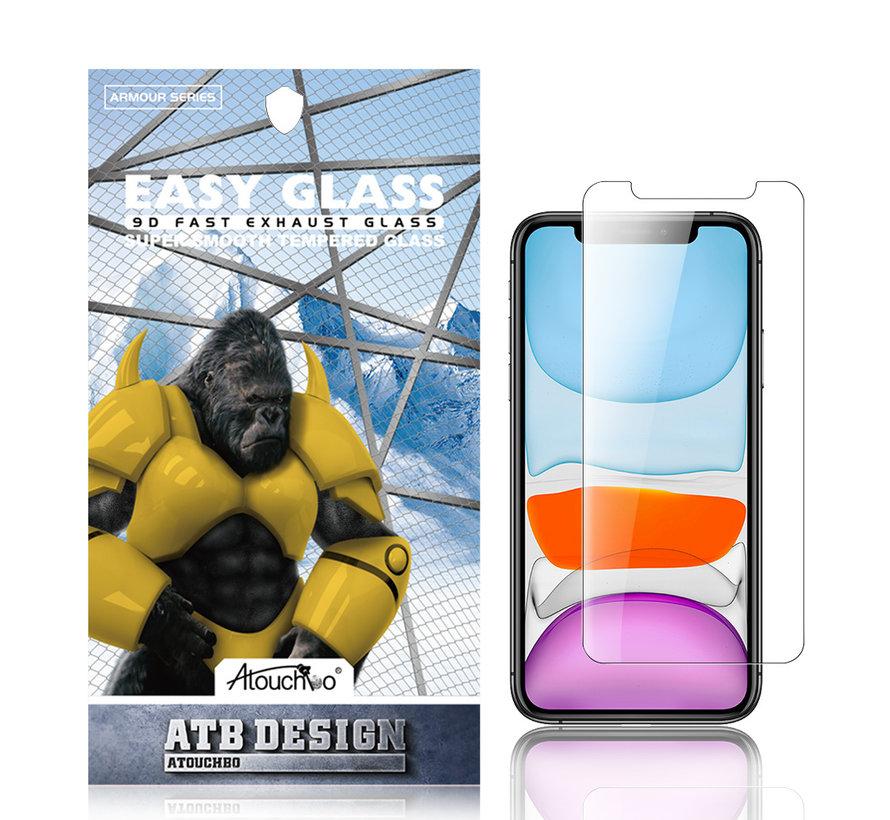 iPhone XR en 11 Screenprotector - Tempered Glass 2.5D
