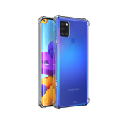 Atouchbo Samsung A21 Case Transparent - Anti-Shock