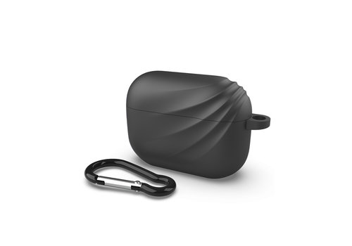 Apple Airpods Pro case - Zwart Deluxe