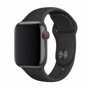 Devia Geschikt voor Apple Watch 38/40MM Bandje Zwart - Sport Strap