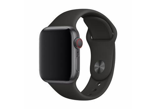 Apple Watch 42/44MM Bandje Zwart - Sport Strap