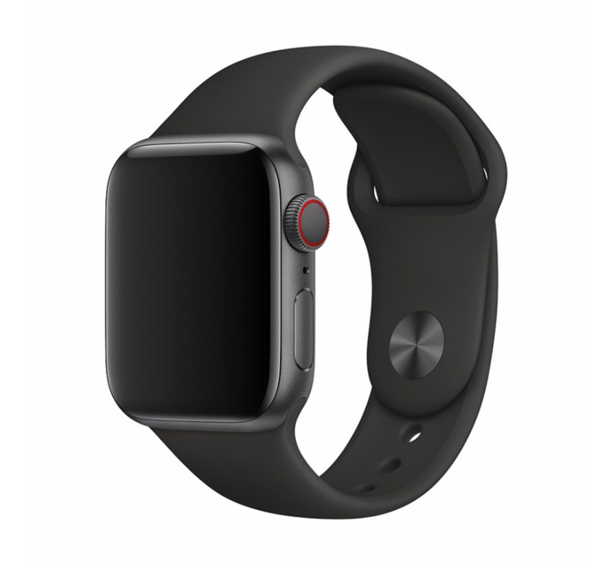 Apple Watch 42/44MM Bandje Zwart - Sport