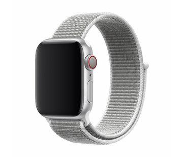 Devia Geschikt voor Apple Watch 38/40MM Bandje Grijs - Nylon