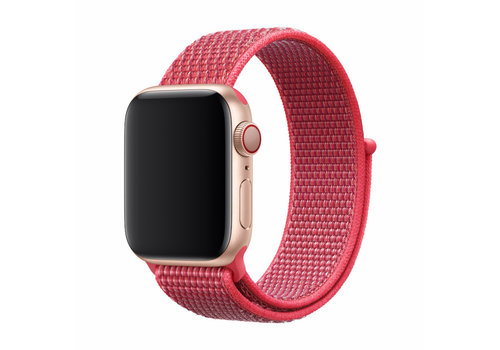 Apple Watch 42/44MM Bandje Rood - Nylon