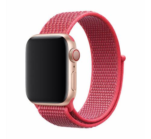 Devia Apple Watch 42/44MM Bandje Rood - Nylon