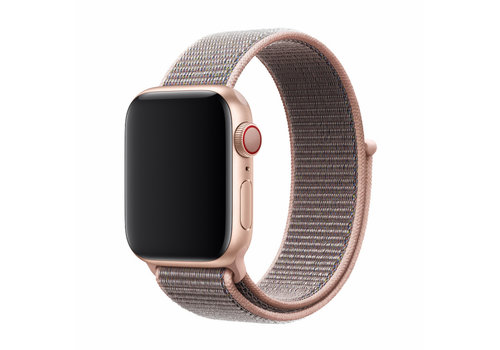 Apple Watch 42/44MM Bandje Lichtroze - Nylon
