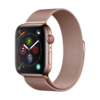 Devia Apple Watch 38/40MM Bandje Rose Goud - Milanees