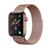 Devia Apple Watch 38/40MM Band Pink Gold - Milanees