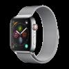 Devia Apple Watch 38/40MM Bandje Zilver - Milanees