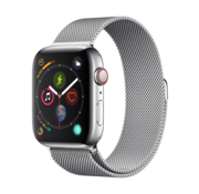 Devia Apple Watch 42/44MM Band Silver - Milanees
