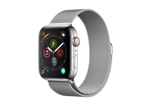 Apple Watch 42/44MM Bandje Zilver - Milanees