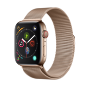 Devia Apple Watch 42/44MM Band Gold - Milanees