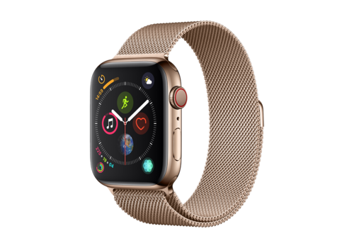 Apple Watch 42/44MM Bandje Goud - Milanees