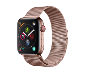 Devia Apple Watch 42/44MM Band Pink Gold - Milanees