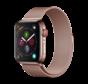 Geschikt voor Apple Watch 42/44MM Bandje Rose Goud - Milanees