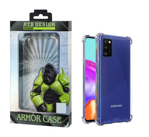 Atouchbo Samsung A41 Hoesje Transparant - Anti-Shock