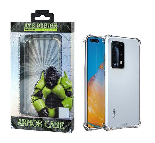 Atouchbo Huawei P40 Pro Hoesje Transparant - Anti Shock