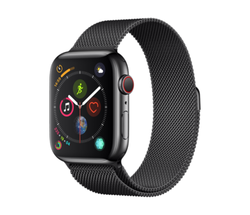 Devia Apple Watch 38/40MM Bandje Zwart - Milanees