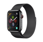 Devia Apple Watch 42/44MM Band Black - Milanees