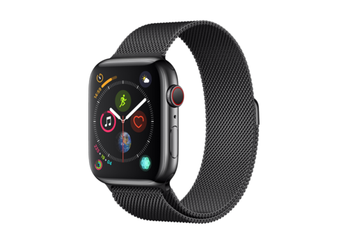Apple Watch 42/44MM Bandje Zwart - Milanees