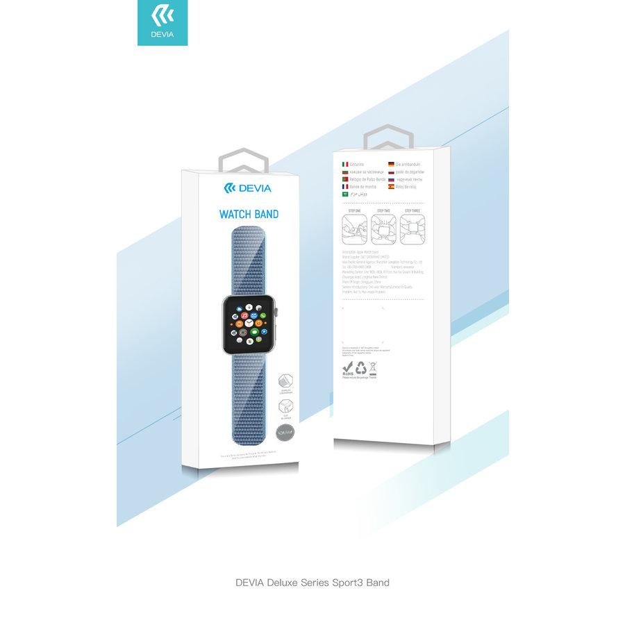 Apple Watch 42/44MM Bandje Cape Blauw  - Nylon