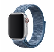 Devia Apple Watch 42/44MM Bandje Cape Blauw - Nylon