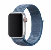 Devia Geschikt voor Apple Watch 42/44MM Bandje Cape Blauw - Nylon
