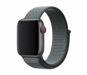 Devia Geschikt voor Apple Watch 38/40MM Bandje Storm Gray - Nylon
