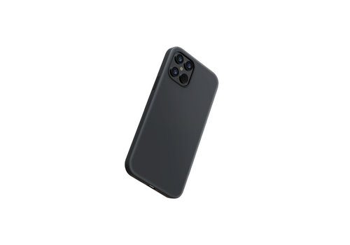 iPhone 12 Pro Case Black - ultra thin & strong with amazing grip!